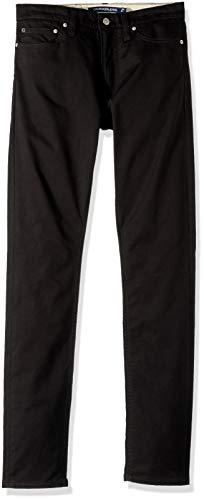 Calvin Klein Jeans Men's 5 Pocket Stretch Cotton Twill Pants, Black, 30x30 (Twill Jeans Black)