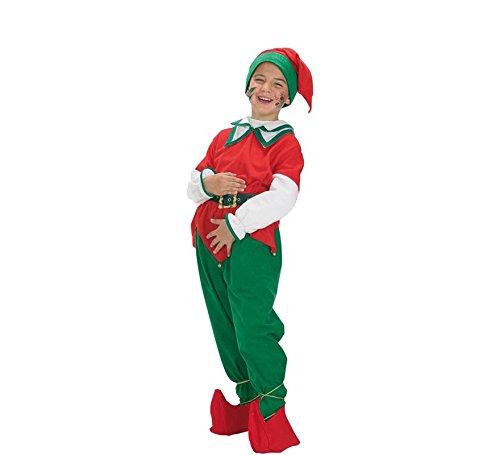 Disfraz de Duende Navideño para niños: Amazon.es: Juguetes y ...