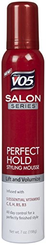 VO5 Salon Series Perfect Hold Aerosol Mousse, 7 oz