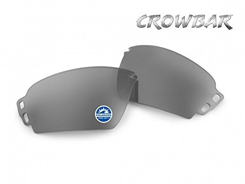 ESS Eyepro Crowbar Replacement Sunglass Lenses, Color Mirrored Gray - Sunglasses Ess Polarized