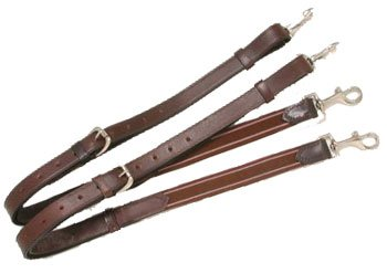 Performers 1st Choice Leather w/ Elastic End Side Reins ()