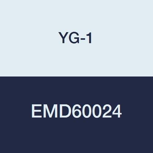 2 Length 4 Flute Stub Length YG-1 EMD60024 Carbide V7 Mill Inox End Mill 3//8
