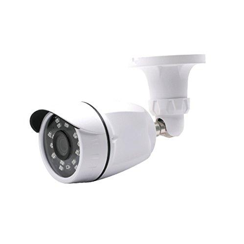 Aposonic A-CM1000F1 1000 TV-Line 3.6 mm 24 IR LEDs Weatherproof Surveillance Bullet Camera (White)
