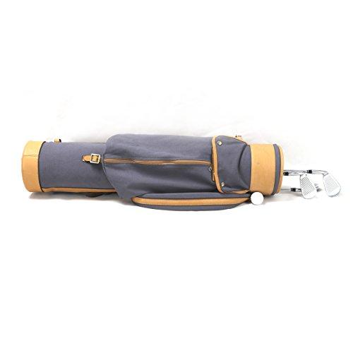 Louisville Golf Canvas Vintage Golf Carry Bag (Blue) by Louisville Golf (Image #5)