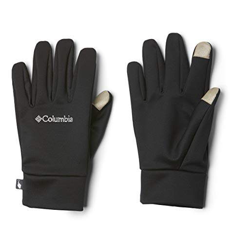 Columbia Unisex Omni-Heat Touch Glove Liner, Black, X-Large