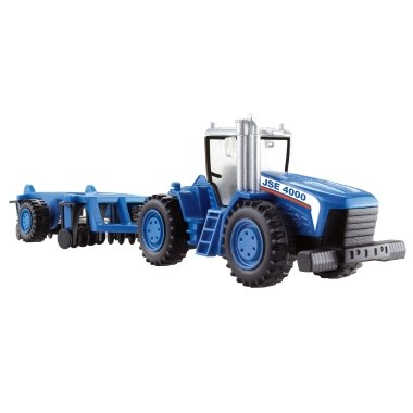 Matchbox Mega Tractor JSE 4000 With Authentic Die-Cast Parts (Matchbox 2009) - Mattel Matchbox Mega Rig