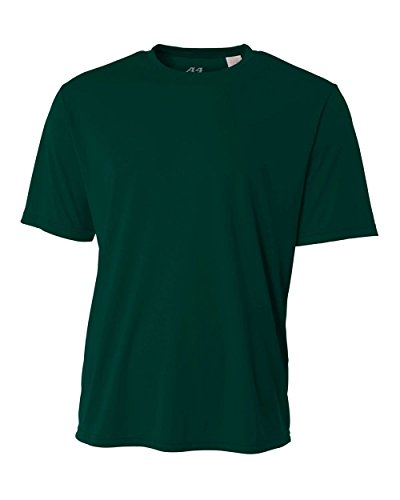 Forrest Green Youth Medium Short Sleeve Wicking Cool & Comfortable
