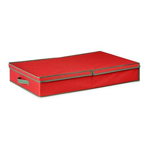 Santa's Little Helper Adjustable Christmas Ornament Storage Box