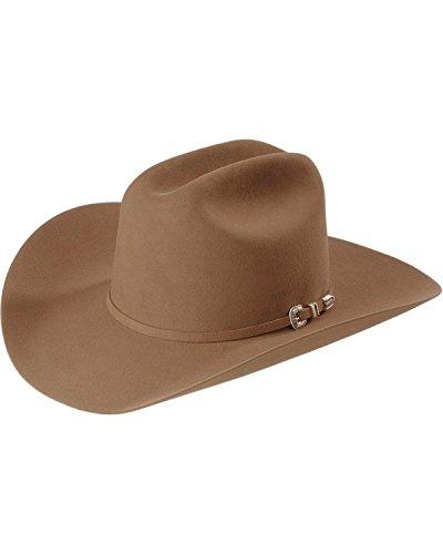 Stetson Men's Skyline 6X Fur Felt Cowboy Hat Sahara 7 - Buffalo Fur 3x