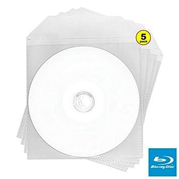 5 Discos BLU Ray en Blanco de 6 x de Cara Completa para ...
