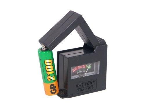 Batterietester für AAA, AA, C, 9V
