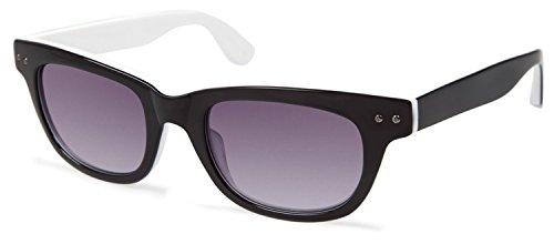 Cynthia RowleyNo. 07 Black Square Plastic Sunglasses (Rowley Squares)