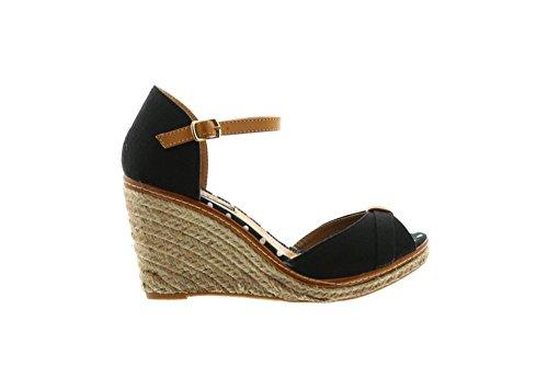 Jumex - Sandalias de vestir para mujer * * negro