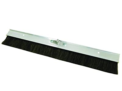 MARSHALLTOWN The Premier Line 427HH 36-Inch Aluminum Backed Concrete Broom-Horsehair