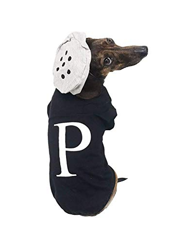 Midlee Salt & Pepper Dog Costume (Pepper, Large) -
