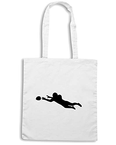 Borsa Bianca AMERICAN WC1277 JUMP FOOTBALL Shopper ZrqwBnaZ