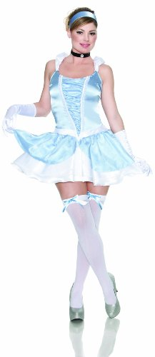 Delicious Enchanting Costume, Blue, (Adult Midnight Fairy Costumes)