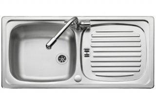 Leisure Euroline EL860NC 860 x 435mm Single Bowl Compact Kitchen ...