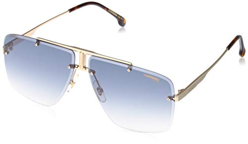 Sunglasses Carrera 1016 /S 0001 Yellow Gold / 08 dark blue gradient lens, 64-11-145 (Sunglasses Gold Luxury)