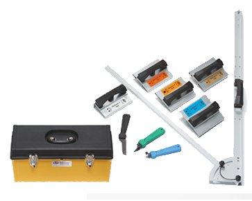 Malco FasGroov 1 in. Ductboard Shiplap Tool Kit w/ FGS Square - FGSLK