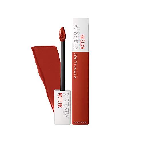 Maybelline New York Superstay Matte Ink City Edition Liquid Lipstick Makeup, Ground-Breaker, 1 Count (Burnt Orange Tattoo Ink)