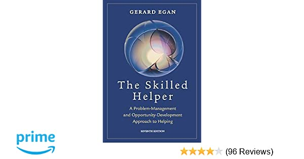 Amazon the skilled helper a problem management and opportunity amazon the skilled helper a problem management and opportunity development approach to helping 9780534367312 gerard egan books fandeluxe Choice Image