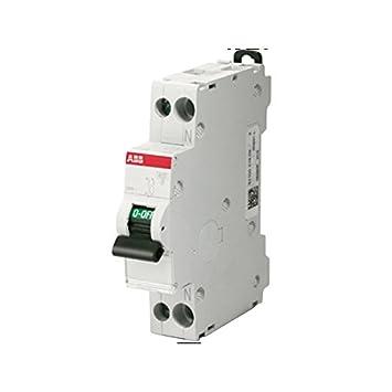 ABB interruptor automático magnetotérmico 1P + N 4,5 kA curva C 1 ...
