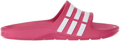 adidas Unisex-Kinder Duramo Slide Sandalen Pink (Pink Buzz / Running White Ftw / Pink Buzz)