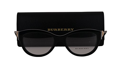 Burberry BE2210 Eyeglasses 51-17-140 Shiny Black 3001 BE - Burberry Cheap Sale