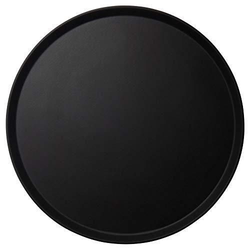 (Cambro Black Round Low Profile 19