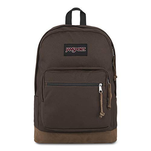 JanSport Right Pack 15 Inch Laptop Backpack - Any Occasion Daypack, Coffee Bean