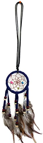 New Navy Dream Catchers Adjustable Cotton Cord with Suede,