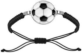 1001 joyas pulsera acero, cordón deslizante, diseño de balón de ...