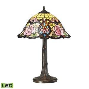 Dimond Lighting Rosedale LED Table Lamp in Dark Bronze - Rosedale Metal