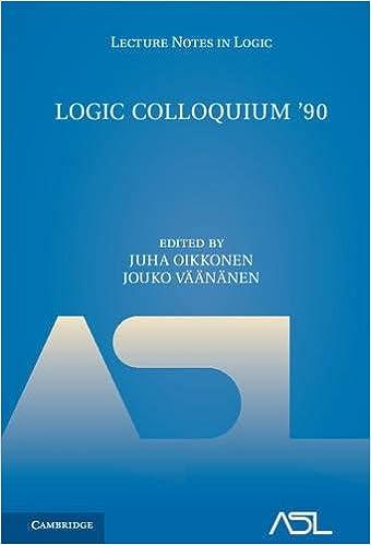 Logic Colloquium 90. ASL Summer Meeting in Helsinki