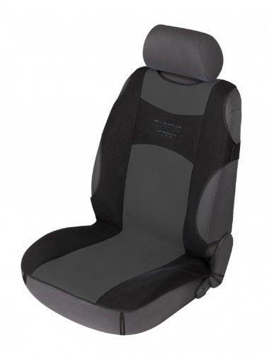 Walser 12647 Autositzbezug Tuning Star T-Shirt Design anthrazit schwarz