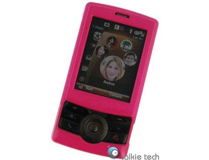 - Hard Plastic Hot Pink Phone Protector Case For T-Mobile HTC Shadow