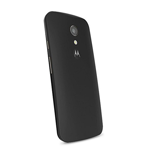 Motorola Shell - Back cover for mobile phone - black - for MOTO G (2nd Gen.)