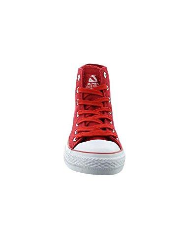 Freizeitschuhe Top Herren Jumex High Schuhe Sneaker 9024 Canvas Rot JX AqfwZx7Y