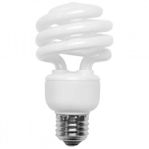 TCP 801019 19W 120V 2700K 1225 Lumens Non-Dimmable Indoor/Outdoor CFL Spiral (Pack of - Spiral 19w Cfl