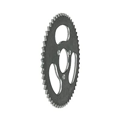 55 Tooth Sprocket #25, 3-bolt for 33cc zooma kid gas scooter, mini 47cc pocket bikes : Sports & Outdoors