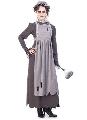 Paper Magic Elsa The Ghost Maid Costume, Gray, Medium