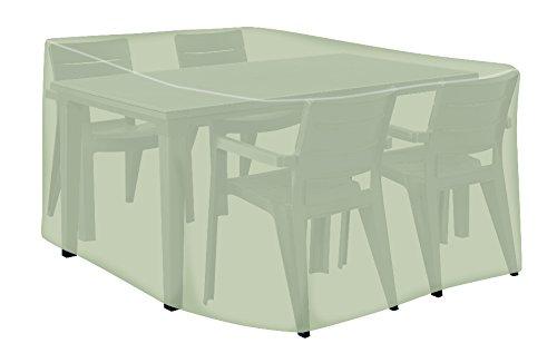 Tepro Universal Abdeckhaube Sitzgruppe rechteckig, groß, beige, 150 x 350 x 95 cm, 8629