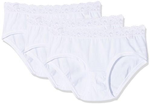 Cotonella Slip Donna (Pacco da 3) Bianco