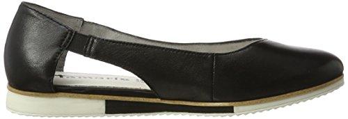 Donna black Leather Mocassini 24202 Nero Tamaris 003 0wqAE8W