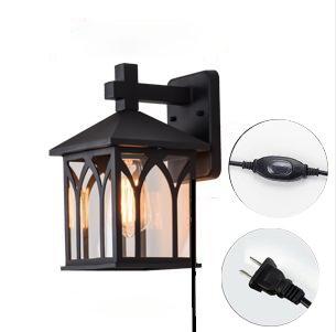 Plug In Outdoor Light Fixtures in US - 9