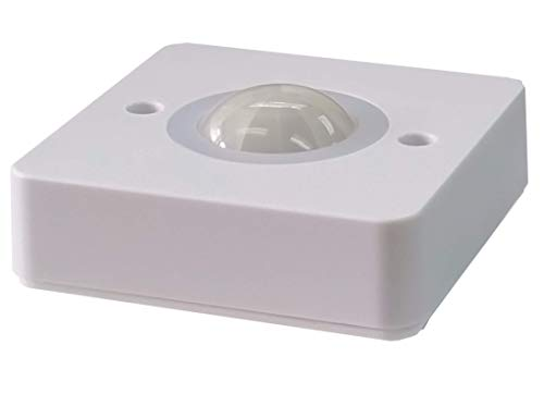 Le Electronics PM400 Montaje en Superficie luz Detector de Movimiento PIR Sensor de Seguridad automático Interruptor, Techo 360 ángulo 5 m en Radio ...