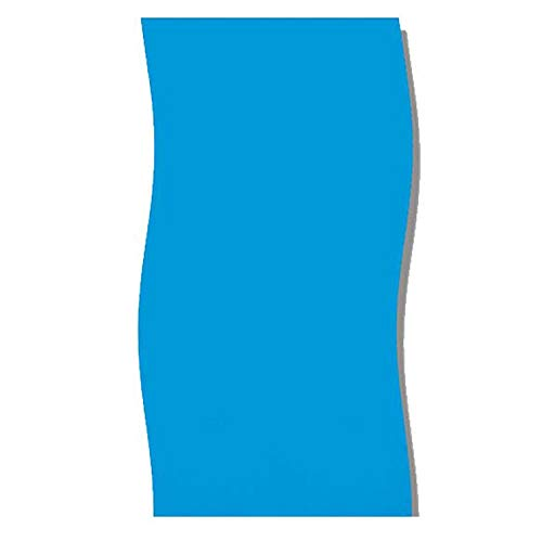 Swimline 24-Feet Round Blue Overlap Liner Standard Gauge