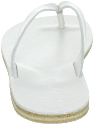 Swedish Hasbeens Thong Sandal Flat - Sandalias de vestir Mujer Blanco