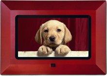 Nextar 7 LCD Digital Photo Frame - N7107 Interchangeable Frames (Black, Red) by Nextar